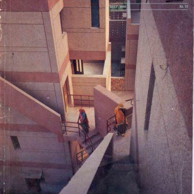 1988 Indian Architect Mag Cover - Raj Rewal - OS.tif