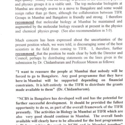 1997 Porter Committee Report - MBU NCBS divide 4.tif
