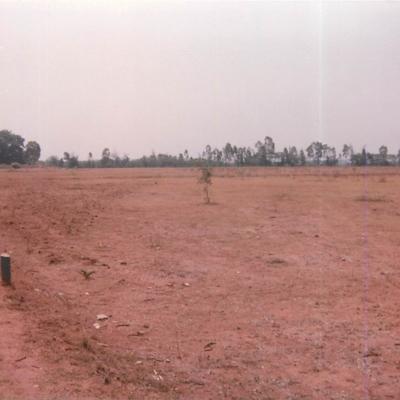 16.  NCBS Campus- Barren land being levelled.jpg